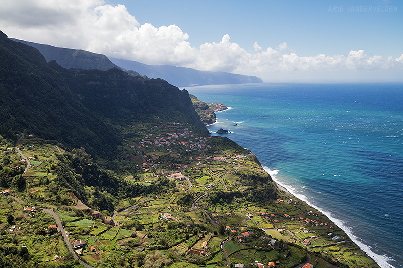 North coast of Madeira.