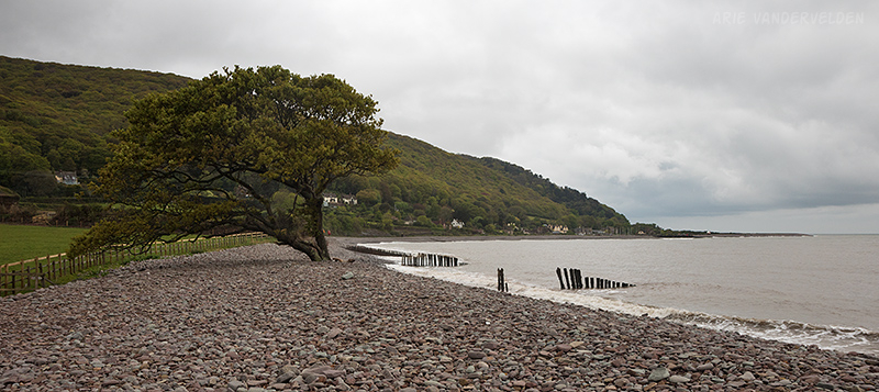Shingle beach near Porlock Weir