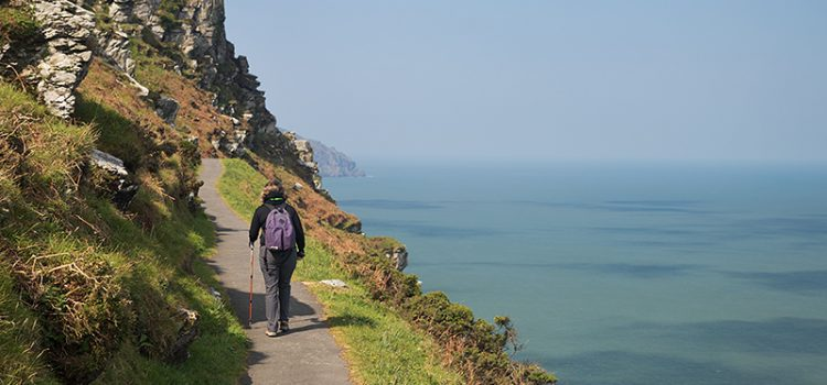 Hiking UK southwest coastal path: Lynmouth to Ilfracombe