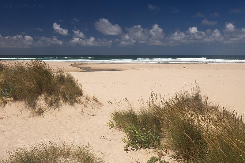 Dunes at Praia de Traba