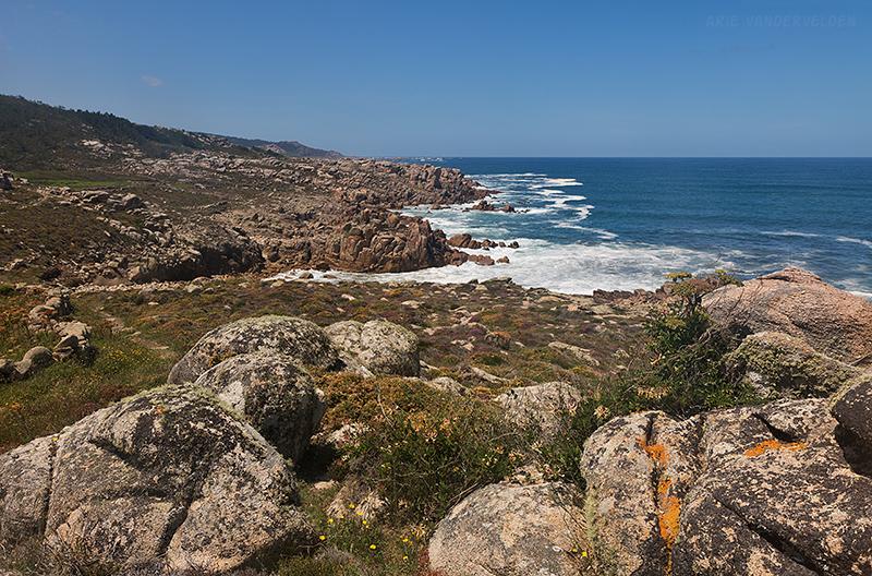 Granitic coastline