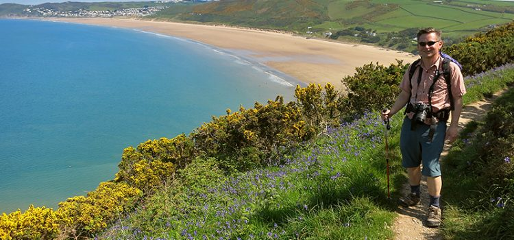 Hiking UK southwest coastal path: Ilfracombe to Croyde