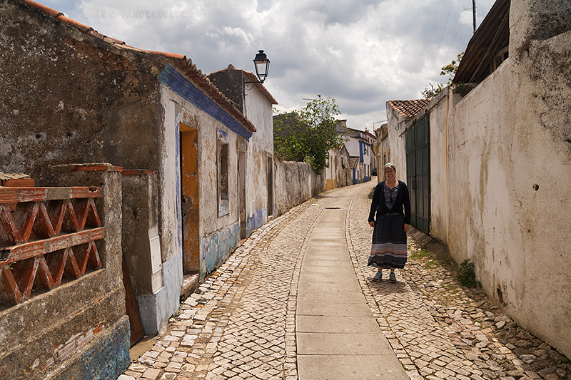 Street in Santiago do Cacém.