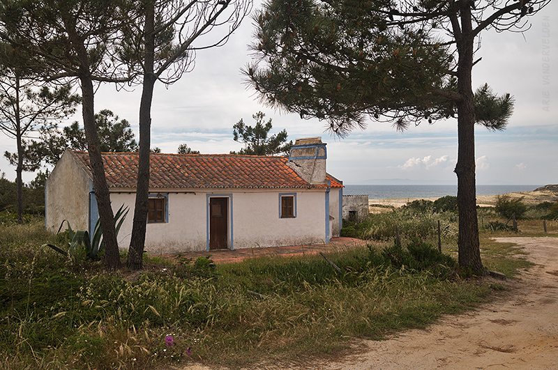 House near the beach.