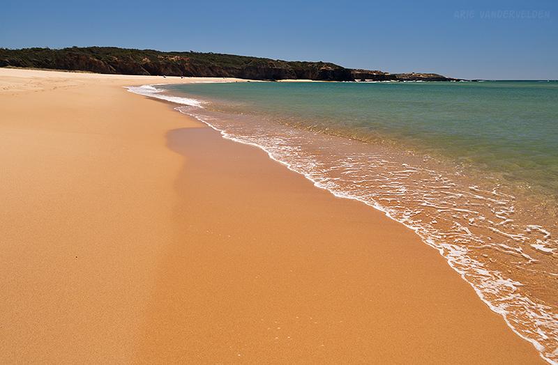 Praia das Furnas.