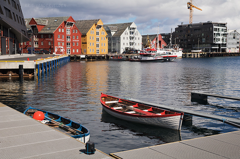 Tromsø's inner harbour.
