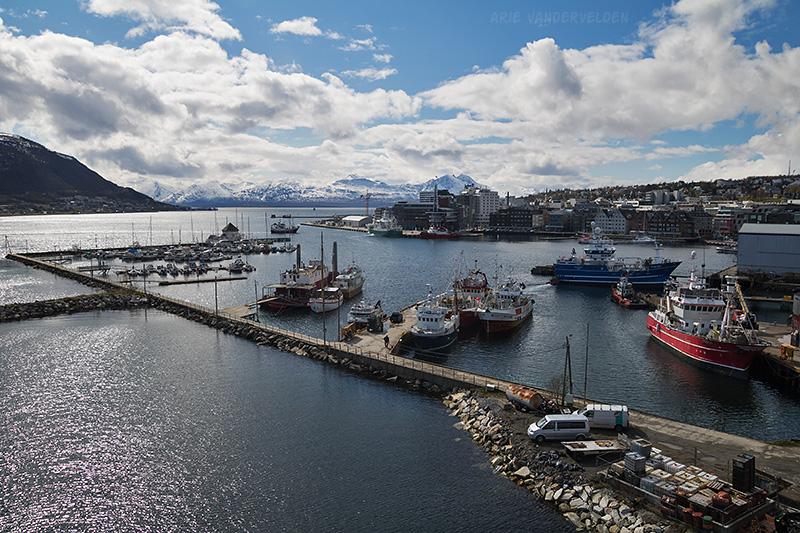 Tromso harbour.