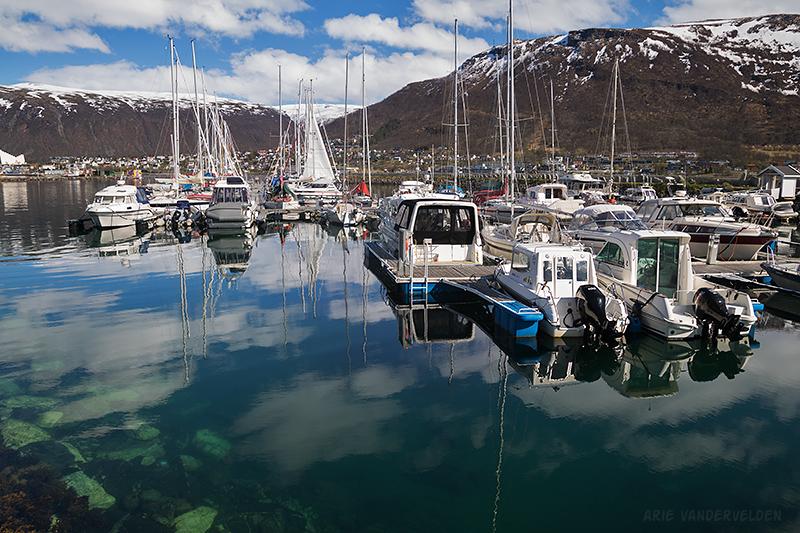 Tromsø marina.