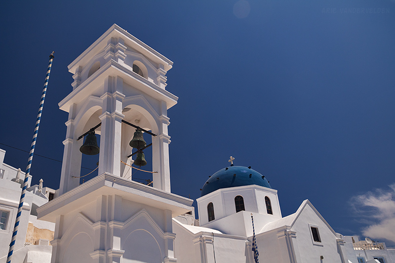 One of Santorini's many churches.