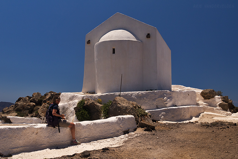 Chapel at the top of the hill.