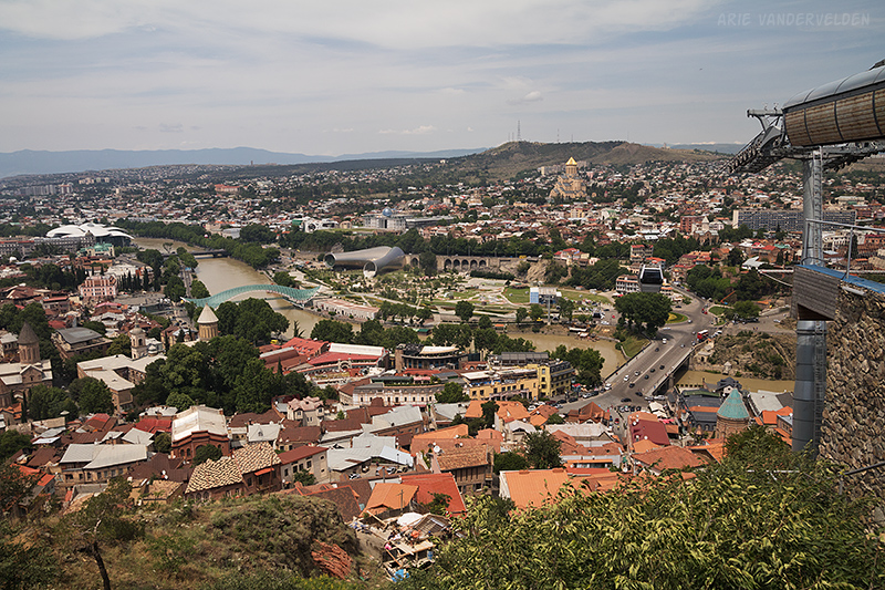 View across Tbilisi.