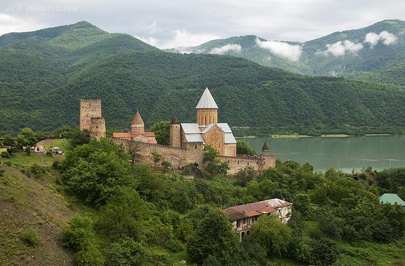 Ananuri Fortress.