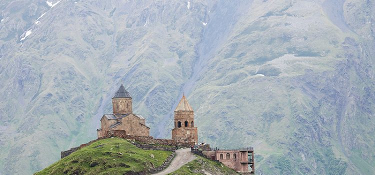 The Caucasus Mountains: hiking Kazbegi, Georgia