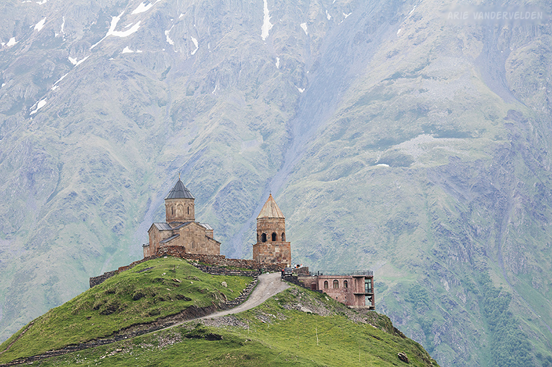 Gergeti Trinity church, Kazbegi.