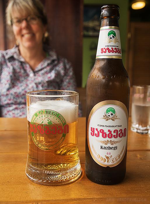 Kazbegi Beer.