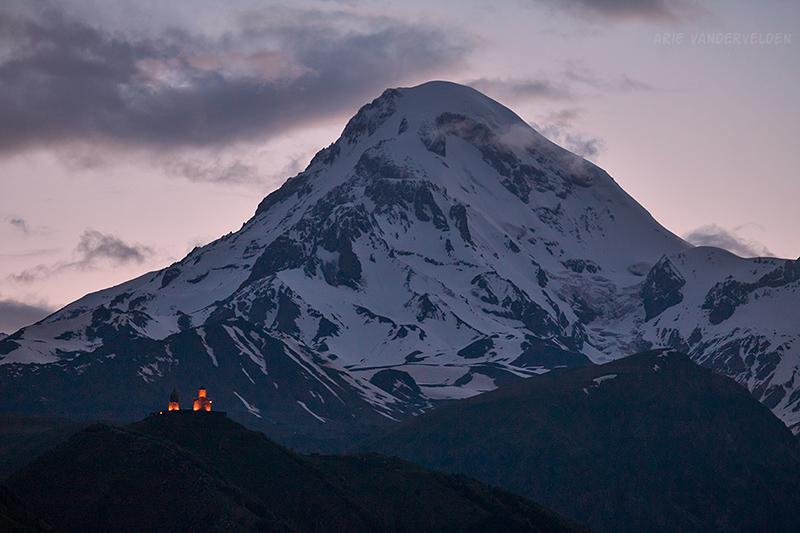 Mount Kazbek.