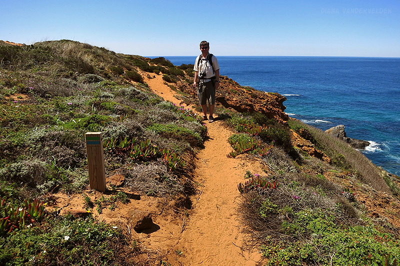 Hiking the Rota Vicentina.