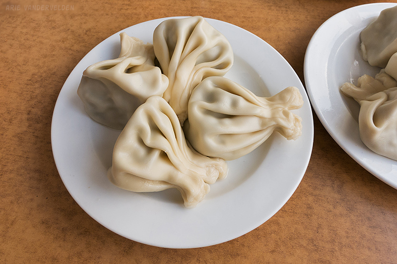 Khinkali - Georgian dumplings.