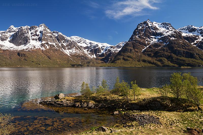 Lofoten scenery.