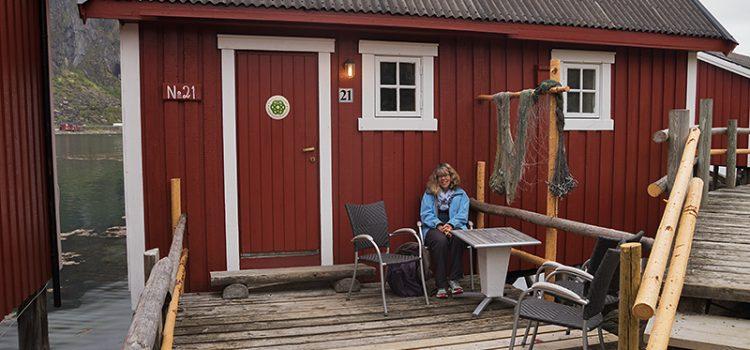 Car touring northern Norway: Svolvaer, Lofoten