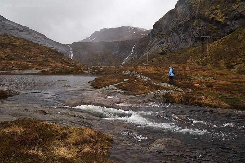 Hiking near Å.
