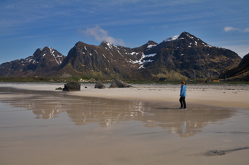 Flakstad Beach.