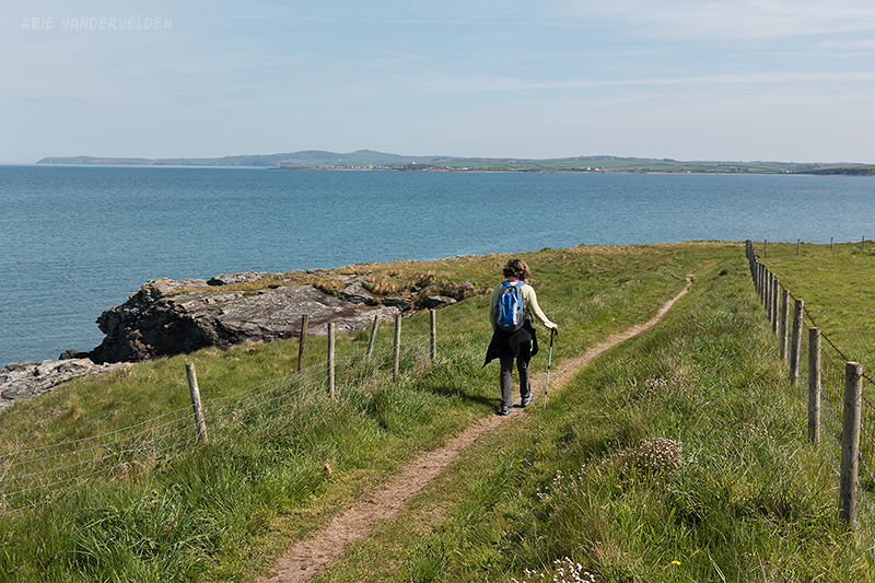 Coastal path on the outskirts of Holyhead.