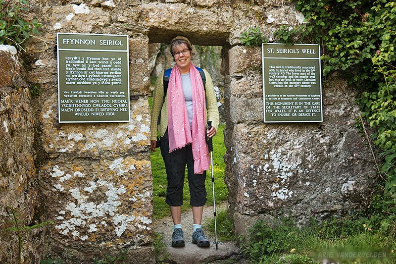 St. Seiriol's well.
