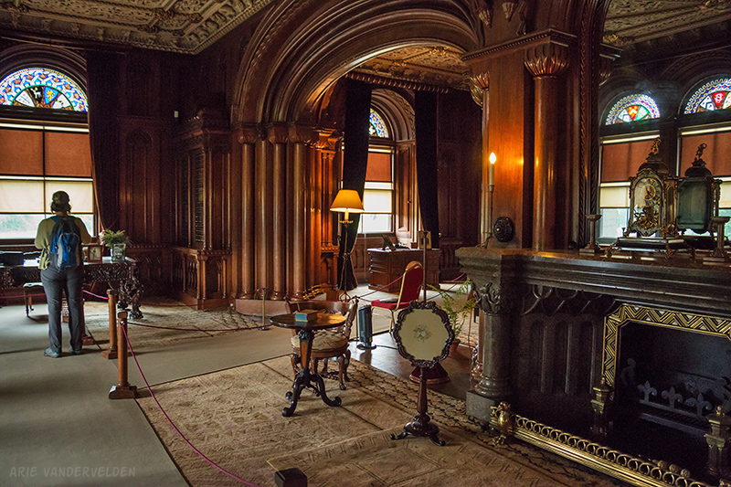 Penrhyn Castle interior.
