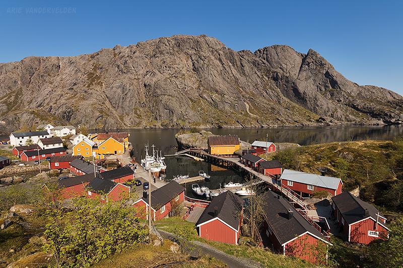 Looking across Nusfjord.