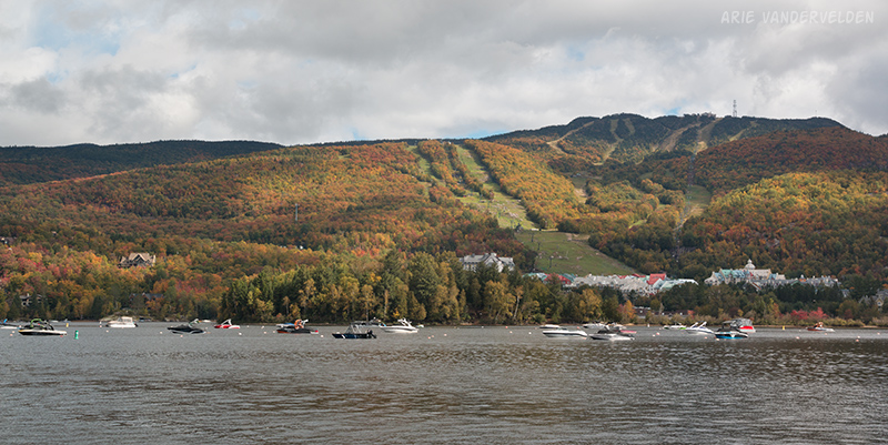 Mont Tremblant ski resort.