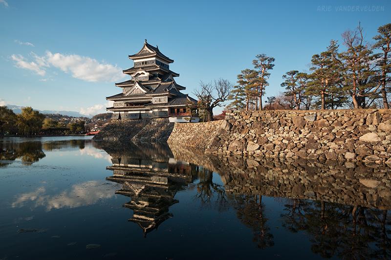 Matsumoto castle.