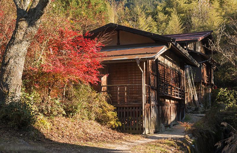 Pretty houses, Tsumago.