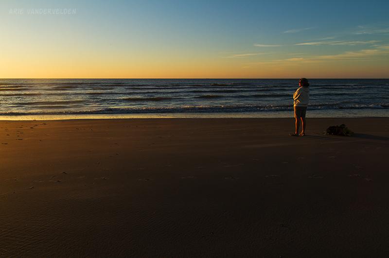 Sunset watching, Terschelling.