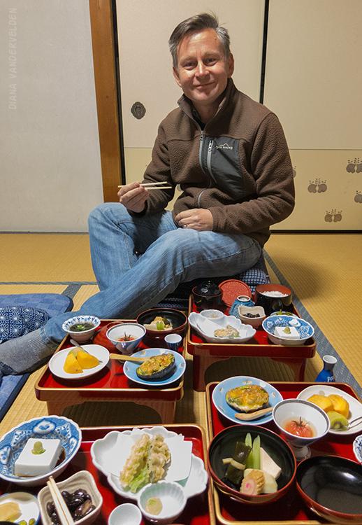 Vegetarian food typical of Koyasan.