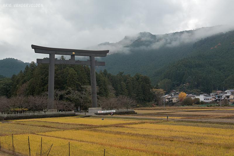 Japan's largest Torii gate.
