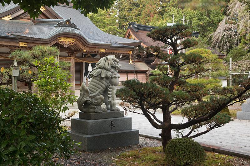 Hongu temple grounds.