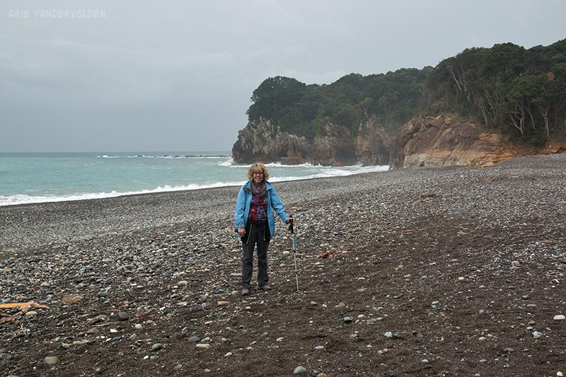 South end of Shingu beach.