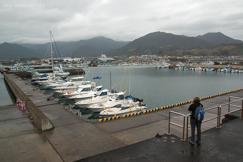 Miwasaki harbour.