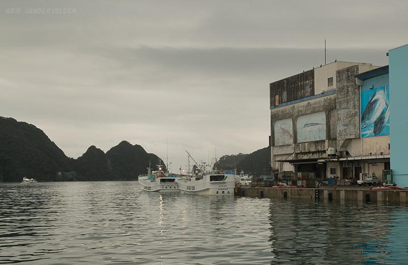 Kii-Kaatsura Harbour.