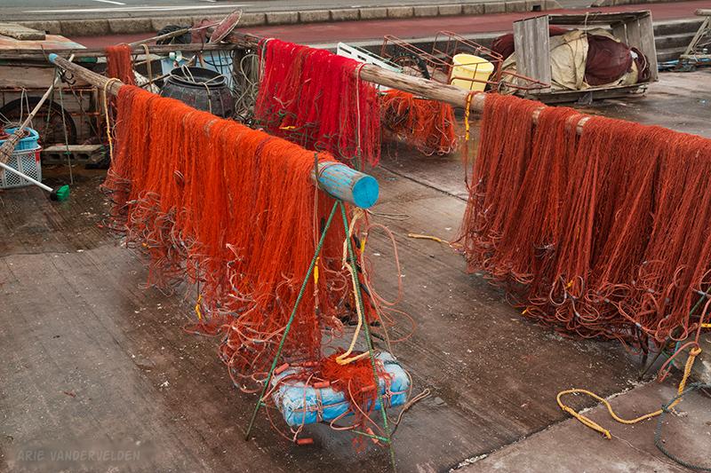 Fishing nets, Kii-Kaatsura.