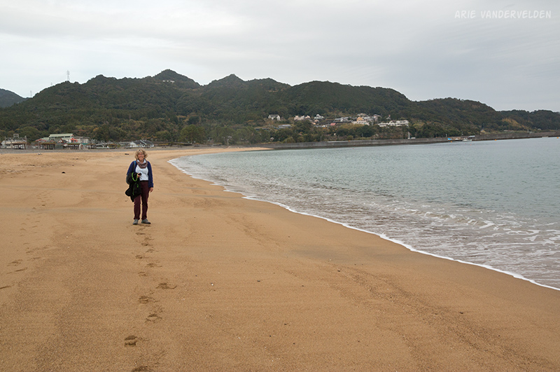 Nachi Beach.