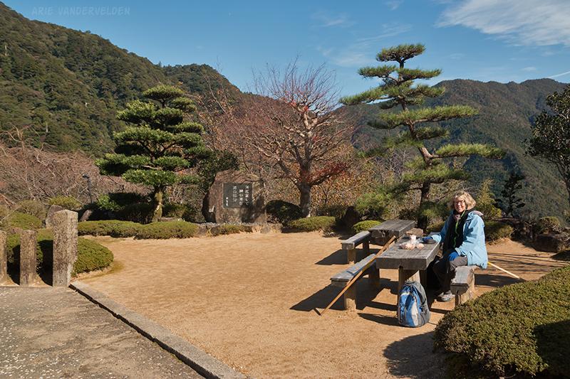 Scenic picnic spot.