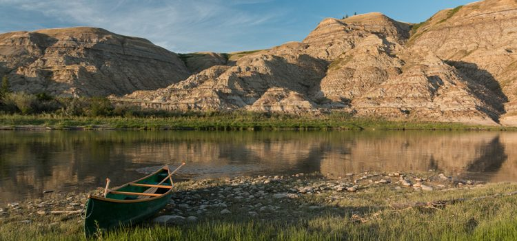 Exshaw Ridge and the Red Deer River
